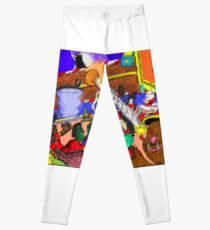 Halloween Hoops Leggings