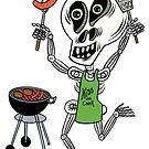 Skully Grillin' by Judy Boyle