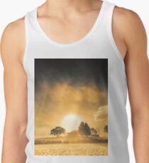 Farmyards and silhouettes Tank Top