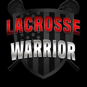 Lacrosse Tshirt Cool LaX Warrior Tee Mens Womens Girls Boys by KiRUS