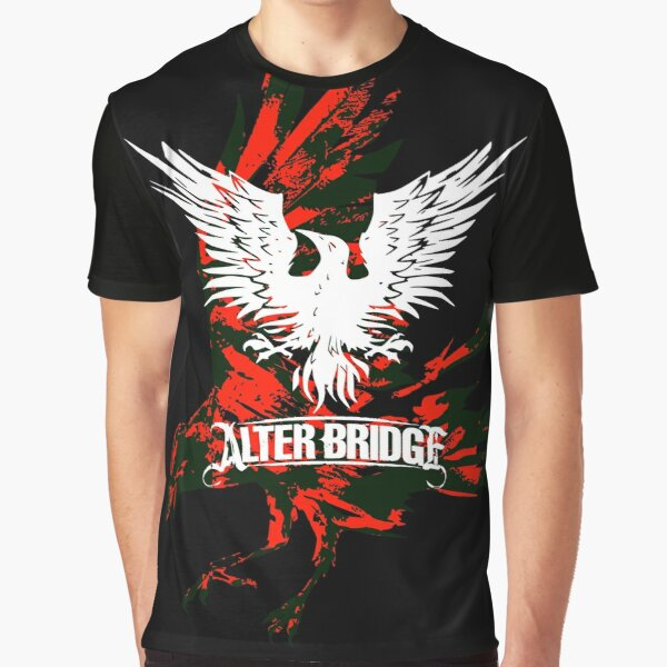 Alter Bridge - Blackbird background Graphic T-Shirt
