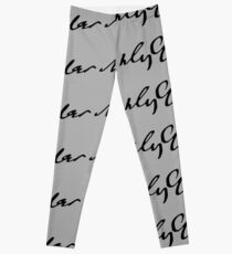 Gustav Mahler signature Leggings