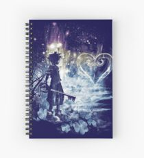 a path to the heart Spiral Notebook