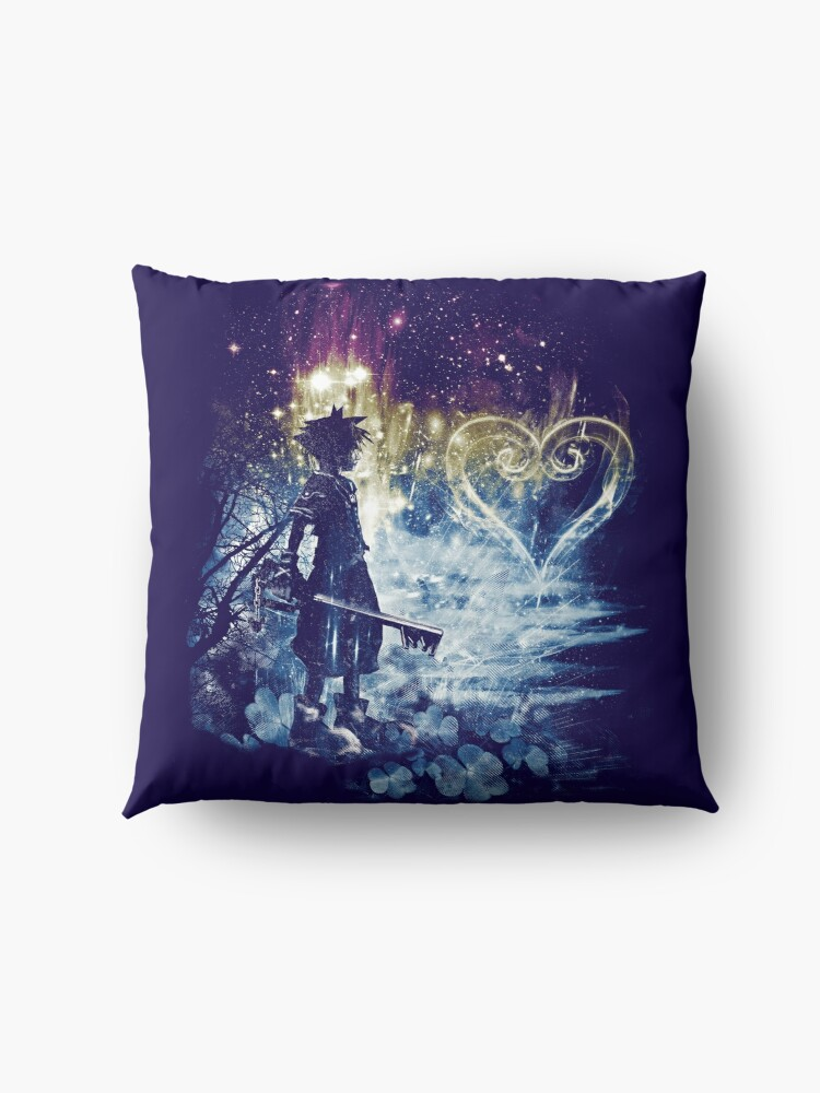 Alternate view of a path to the heart Floor Pillow