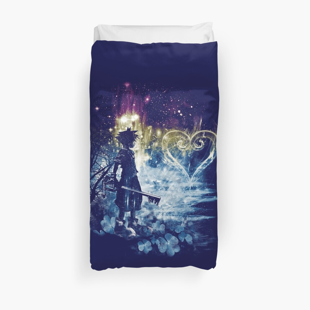 a path to the heart Duvet Cover