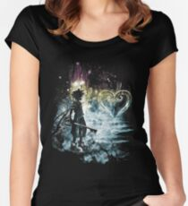 a path to the heart Fitted Scoop T-Shirt