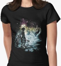 a path to the heart Women's Fitted T-Shirt