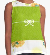 japanese style:001yellowgreen Sleeveless Top
