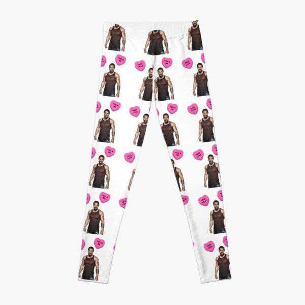 Jason Momoa, Valentine's day, Gifts, Presents, Cute, Love, Pink, Cool, Friendship, Romantic, Friends, Cinema, Film, Actor, Culture Leggings