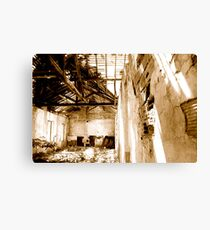 world war II ruins Canvas Print