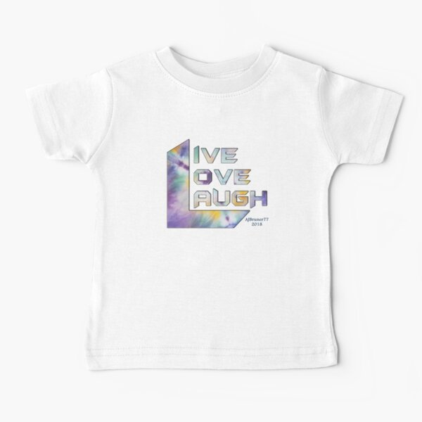 3 L Words - Purple and Pansies v2 Baby T-Shirt