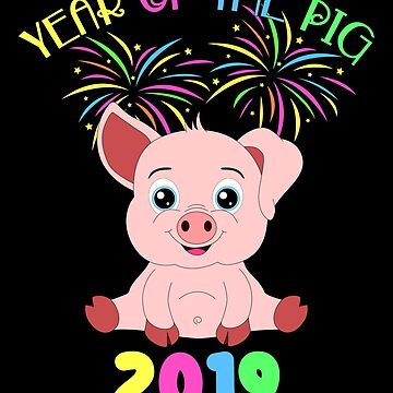 Year Of The Pig Chinese New Year Astrology Zodiac by Basti09