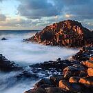 Giants Causeway Sunset by Adrian McGlynn
