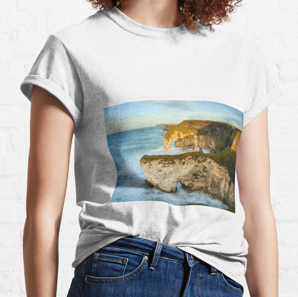 Sea Arches On The Causeway Coast Classic T-Shirt