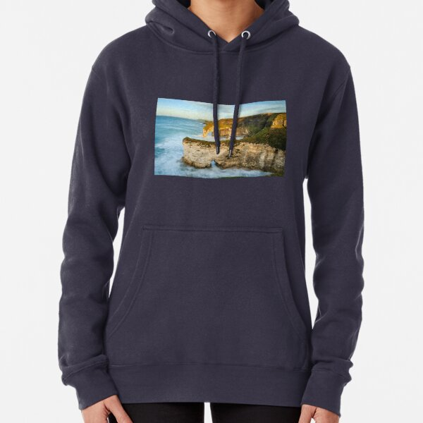 Sea Arches On The Causeway Coast Pullover Hoodie