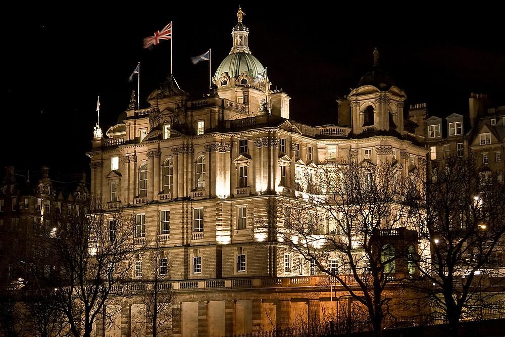 Bank of Scotland Headquarters - Edinburgh by Chris Clark