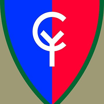 """38th Infantry Division """"Cyclone"""" (United States) by wordwidesymbols"""