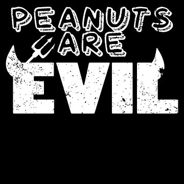 Peanut Allergy Clothes Peanuts Are Evil by shoppzee