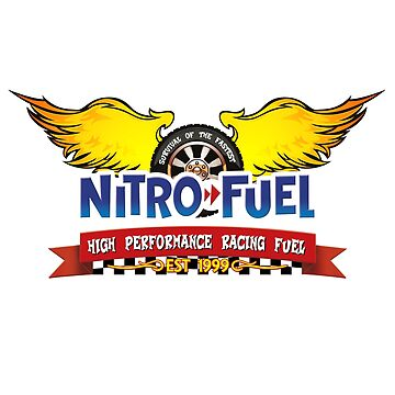Nitro Fuel High Performance Racing Fuel by GoMerchBubble