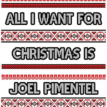 Ugly Christmas Sweater - Joel Pimentel by amandamedeiros