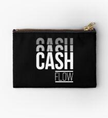 Passive Income: Money Talks but Cash Flow Speaks Studio Pouch