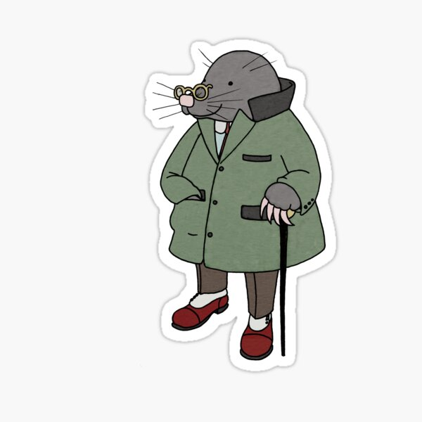 Mole, The Wind in the Willows Sticker