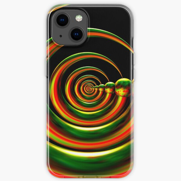 Divinorum Express by Spaced Painter iPhone Soft Case