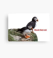 Check that out Canvas Print