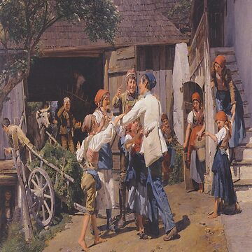 Homecoming into the fathers house-Ferdinand Georg Waldmüller by LexBauer