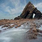 Blackchurch Rock -  mouthmill  Devon by eddiej