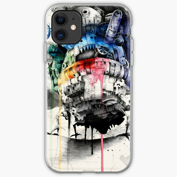 Howl's Moving Castle iPhone Soft Case