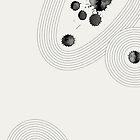 Accidental Zen Garden n°3 (West Meets East Series) by Thoth Adan