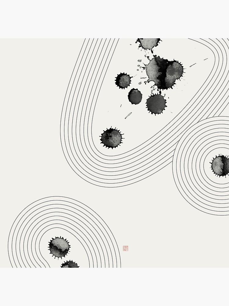 Accidental Zen Garden n°3 (West Meets East Series) by Thoth-Adan