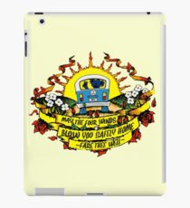 May The Four Winds Blow You Safely Home - Fare Thee Well iPad Case/Skin