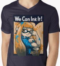 We Can Ink It! Men's V-Neck T-Shirt