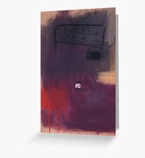 Red Earth. Greeting Card