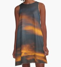 Firy December Sunset A-Line Dress