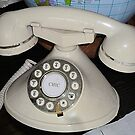 1930s French cradle 'phone. by Woodie