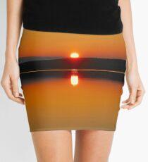 Sunset at the Lake Mini Skirt