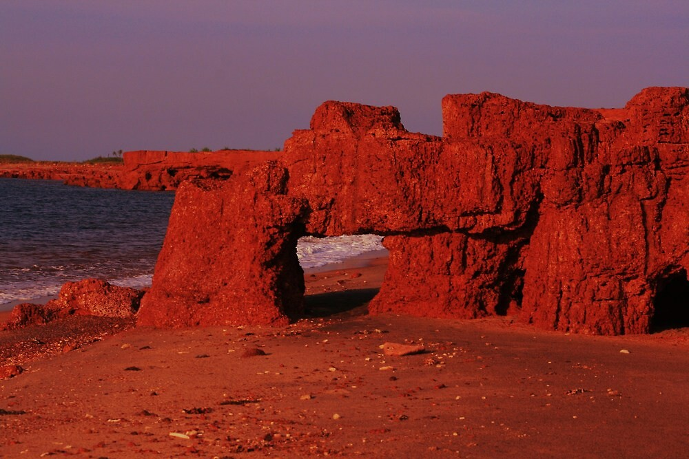 Cobourg Islands - Red Earth Arches by deboraharmour