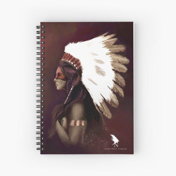 Native American Woman Spiral Notebook