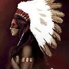 Native American Woman by Nightfrost4