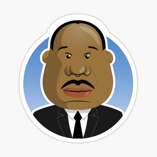 Martin Luther King Jr. Sticker