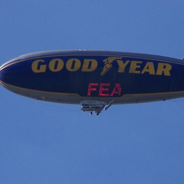 The Goodyear Blimp by borgking001a
