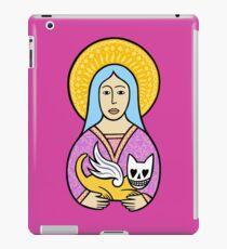 Ladies love the devil cats iPad Case/Skin