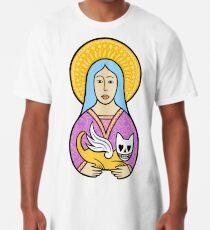 Ladies love the devil cats Long T-Shirt