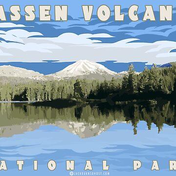 Vulkanischer Nationalpark Lassen von jackburnsghost