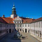 Germany. Munich. Rezidenz. Fountain Courtyard. by vadim19