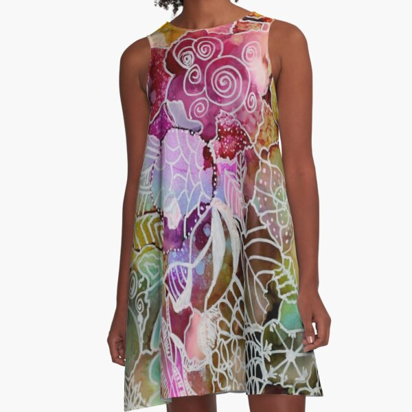 Doodlebug A-Line Dress