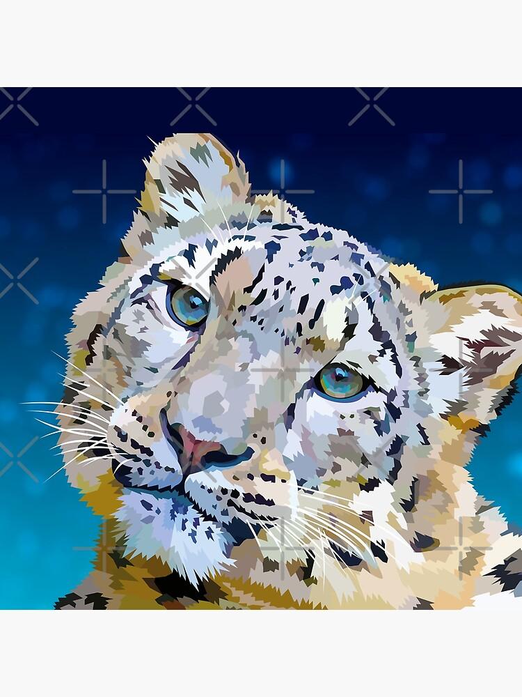 Snow Leopard by Elviranl